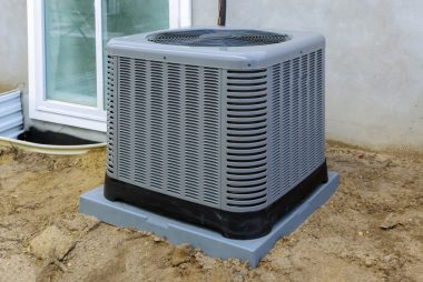 air condition unit outside of a home